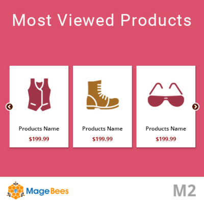 Most viewed Products Extension for Magento 2