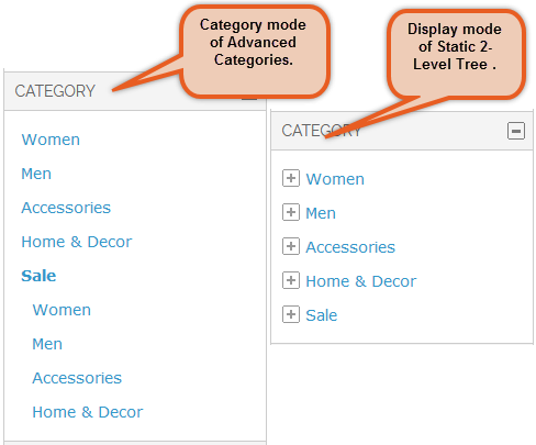 Category Display Type