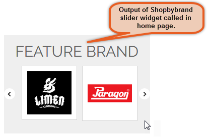 Shop By Brand Slider