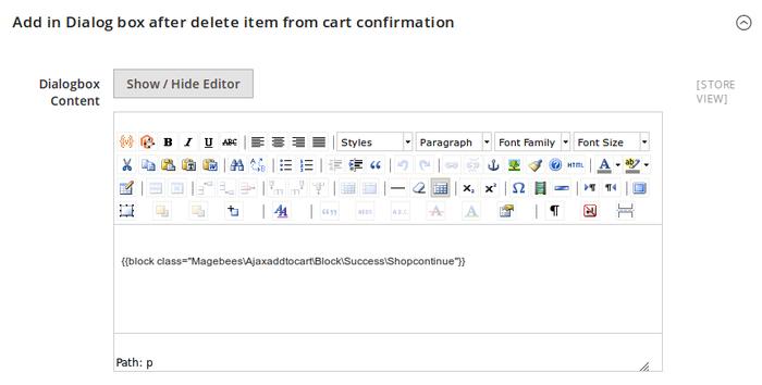Ajax Add To Cart Pro Configuration