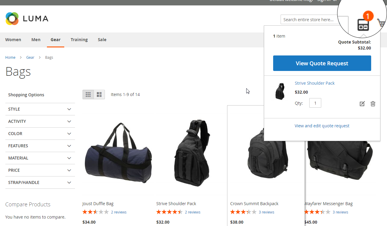 Magento 2 Quotation Extension   Request for Quotes Module