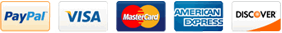 Payment Options Visa Mastercards American Express Discover
