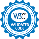 W3C Validated Code