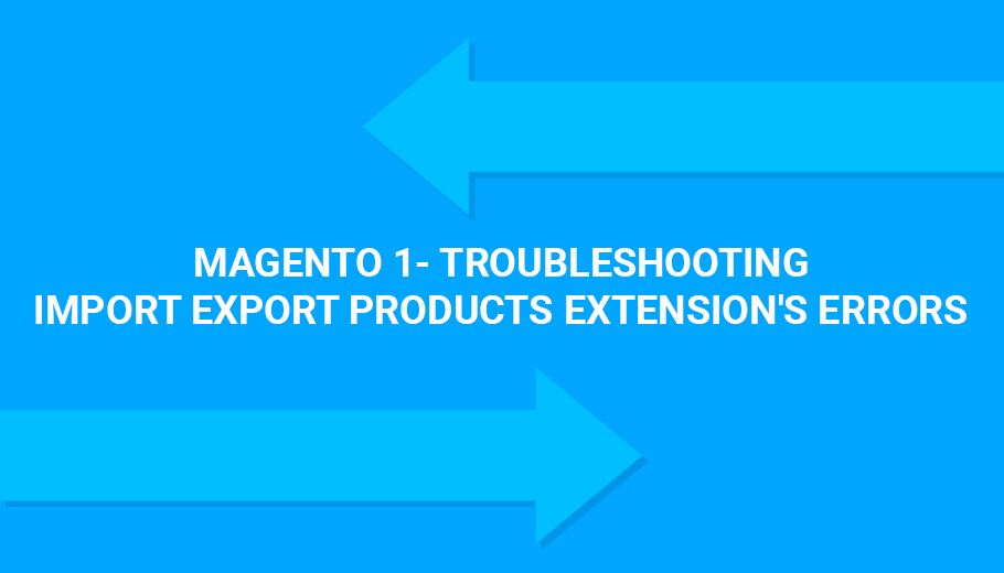 Magento 1- Troubleshooting Import Export Products extension's errors